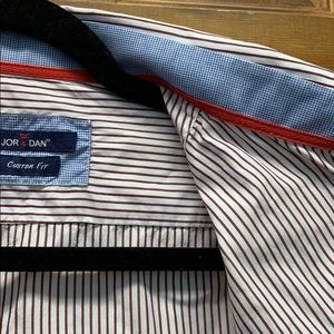 Jor&Dan long sleeve made in Italy mens button down